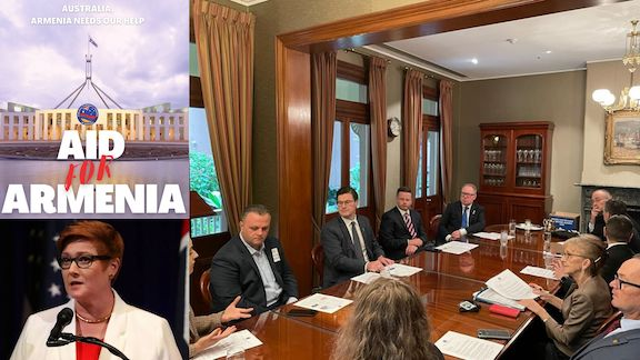 Support growing for Australian aid to Artsakh Armenians