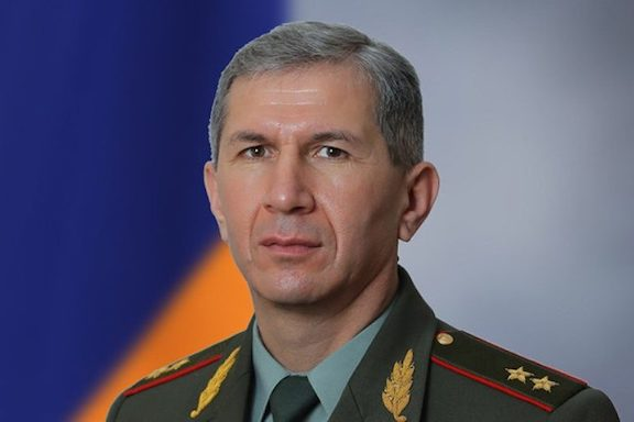 Armenia's Armed Forces Chief of Staff Colonel-General Onik Gasparyan was fired by Prime Minister Nikol Pashinyan