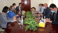 U.S. Ambassador Lynne Tracy meets with Syunik officials