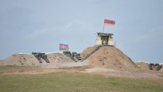 The Armenia-Azerbaijan border