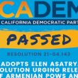 cadem passes resolution feature